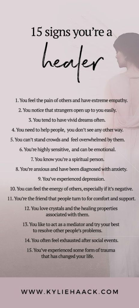 you're healer